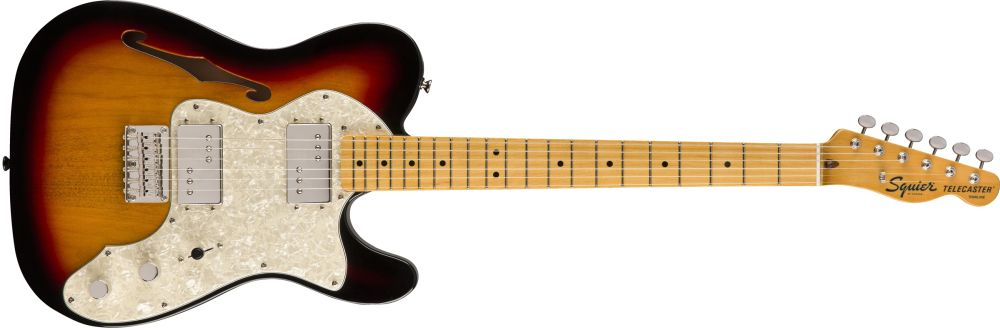 Classic Vibe 70s Telecaster Thinline: Electric Guitar
