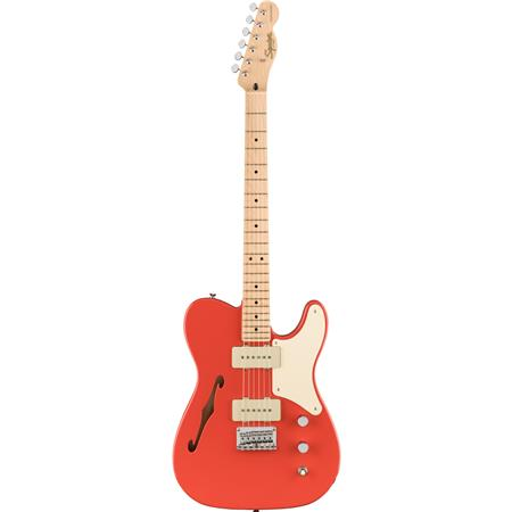 Paranormal Cabronita Thin Fiesta Red Guitar: Electric Guitar