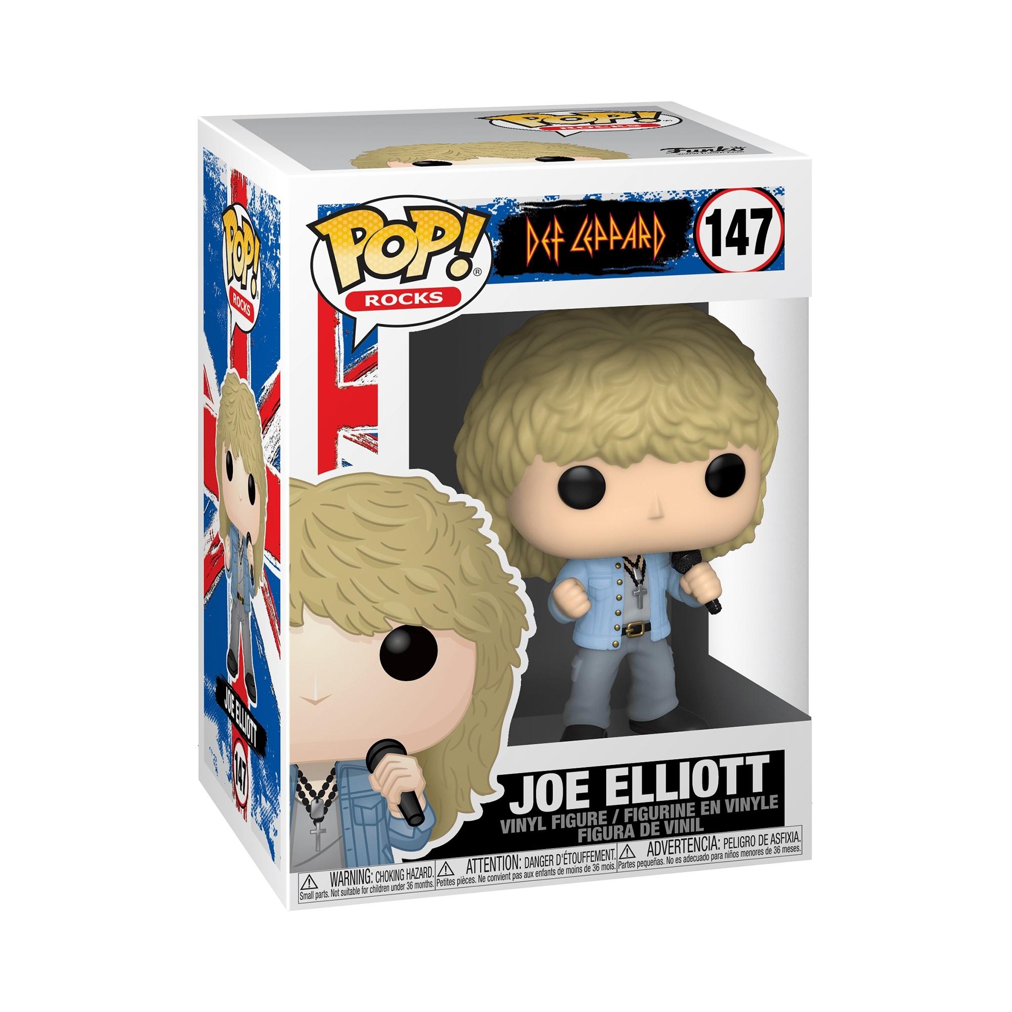 Pop Rocks Joe Elliott Def Leppard Pop Vinyl: Ornament