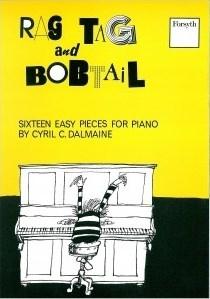 Cyril Dalmaine: Rag Tag And Bobtail: Piano: Instrumental Album
