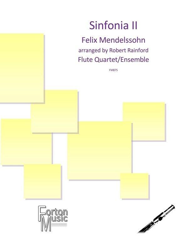 Felix Mendelssohn-Bartholdy: Sinfonia II: Woodwind Ensemble: Score and Parts