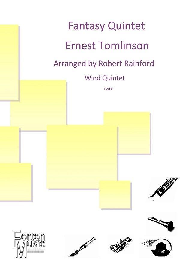 Ernest Tomlinson: Fantasy Quintet: Wind Ensemble: Score and Parts