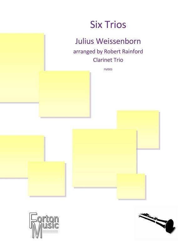 Julius Weissenborn: Six Trios: Woodwind Ensemble: Score and Parts