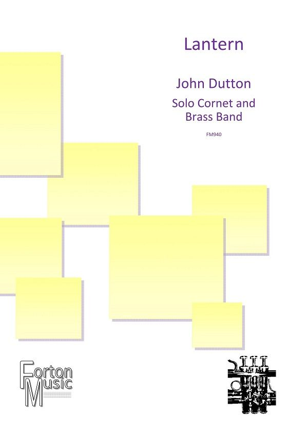 John Dutton: Lantern: Brass Band and Solo: Score and Parts