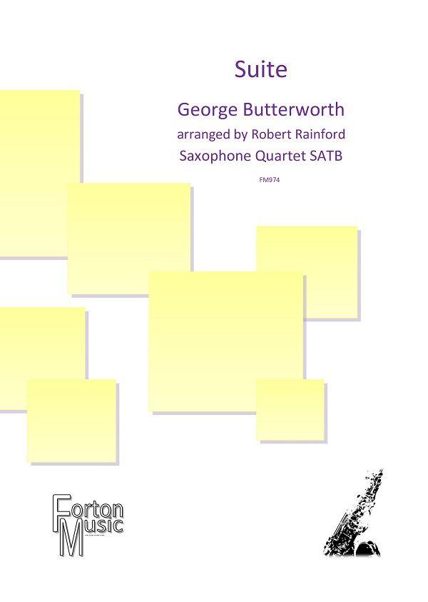 George Butterworth: Suite: Woodwind Ensemble: Score & Parts