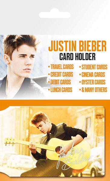 Justin Bieber Belieber Credit Card Holder: Accessory