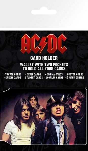 AC/DC Credit Card Holder: Stationery