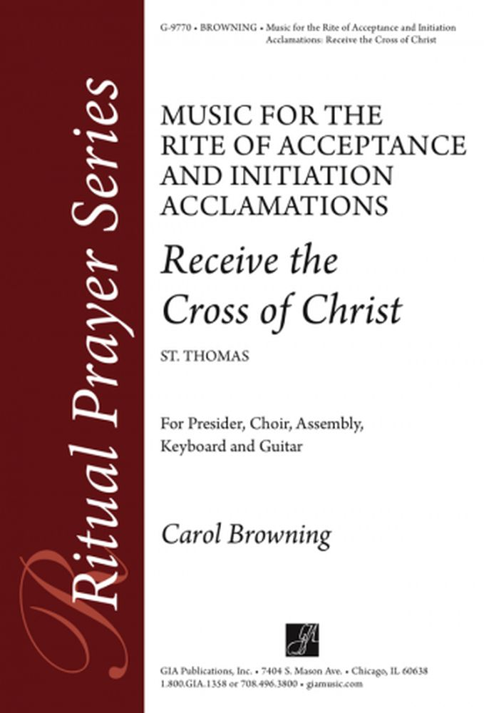 Carol Browning: Music For The Rite Of Christian Initiation Adults: SAB: Vocal