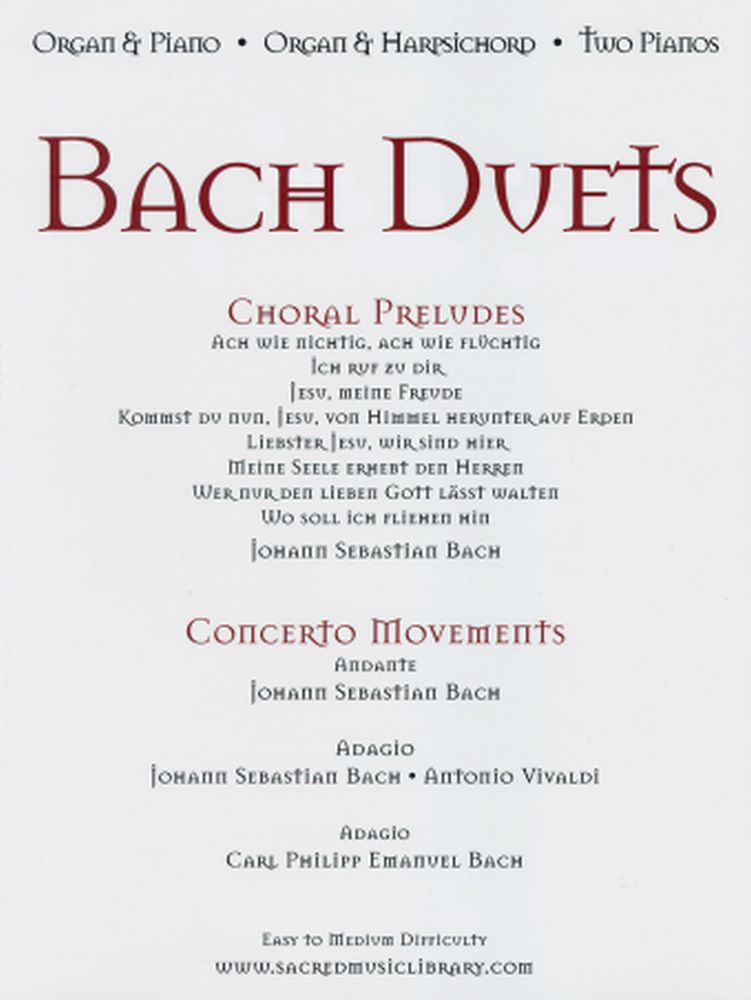 Bach Duets