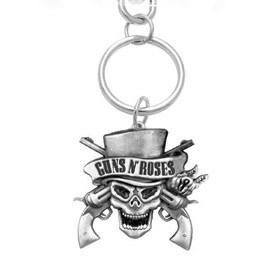 Guns N Roses Skull Keyring: Keyring