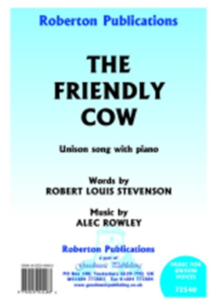 Alec Rowley: Friendly Cow: Mixed Choir: Vocal Score