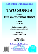 Cecil Cope James Reeves: Two Songs From The Wandering Moon: Mixed Choir: Vocal