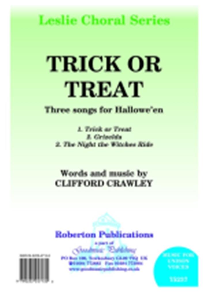 Clifford Crawley: Trick or Treat: Mixed Choir: Vocal Album