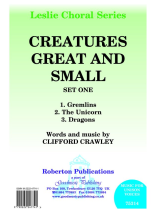 Clifford Crawley: Creatures Great and Small: Unison Voices: Vocal Score