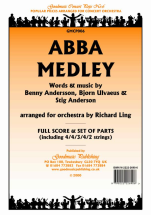 Andersson: Abba Medley: Orchestra: Score and Parts