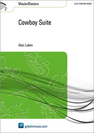 Alan Laken: Cowboy Suite: Fanfare Band: Score & Parts