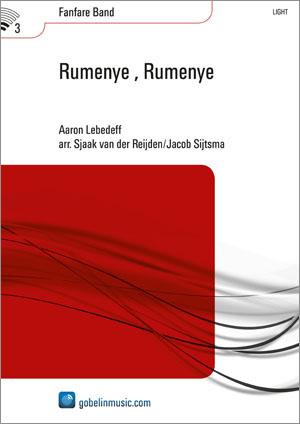 Aaron Lebedeff: Rumenye Rumenye: Fanfare Band: Score & Parts
