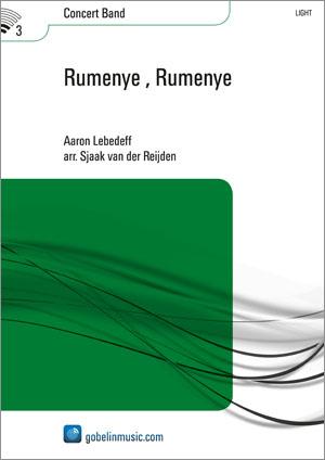 Aaron Lebedeff: Rumenye Rumenye: Concert Band: Score