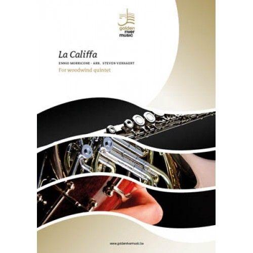 Ennio Morricone: La Califfa: Woodwind Ensemble: Score and Parts