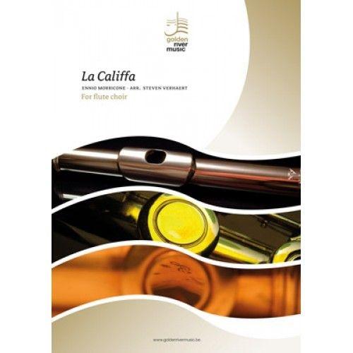 Ennio Morricone: La Califfa: Flute Ensemble: Score and Parts