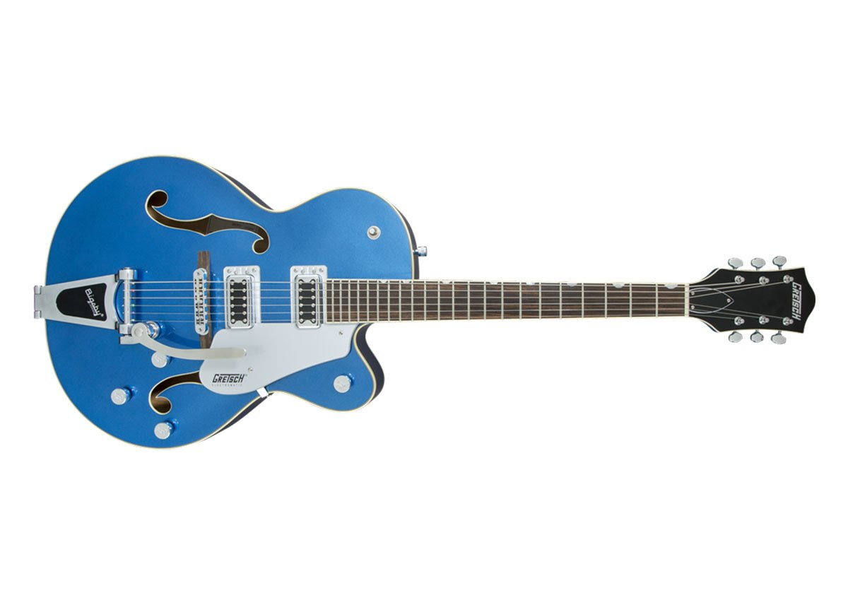 Electromatic Hollowbody With Bigsby Guitar Blue: Electric Guitar