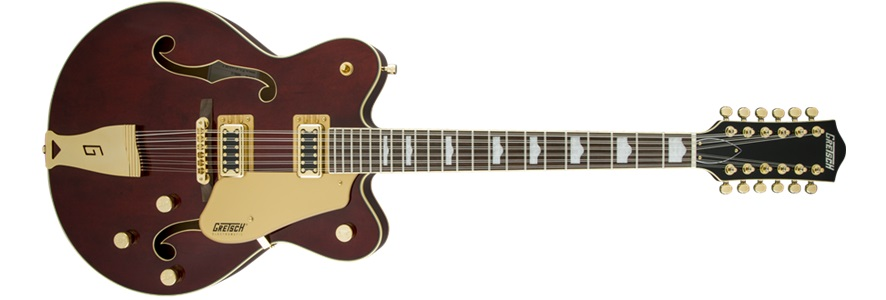 G5422G12 12 String EM Hollowbody Electric Walnut S: Electric Guitar