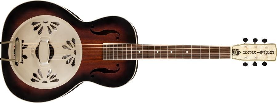 Alligator Biscuit Resonator Guitar 2 Colour SB: Acoustic Guitar