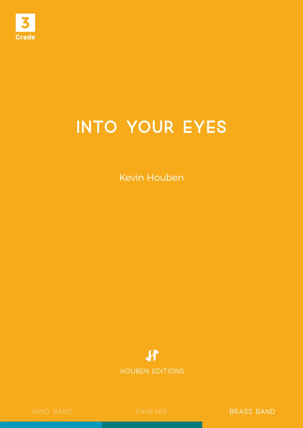 Kevin Houben: Into your Eyes: Brass Band: Score & Parts
