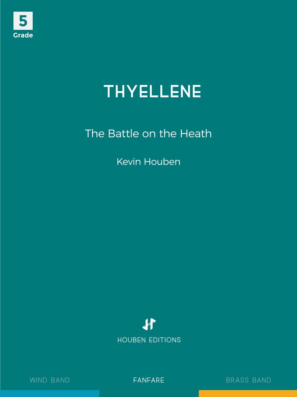 Kevin Houben: Thyellene: Fanfare: Score