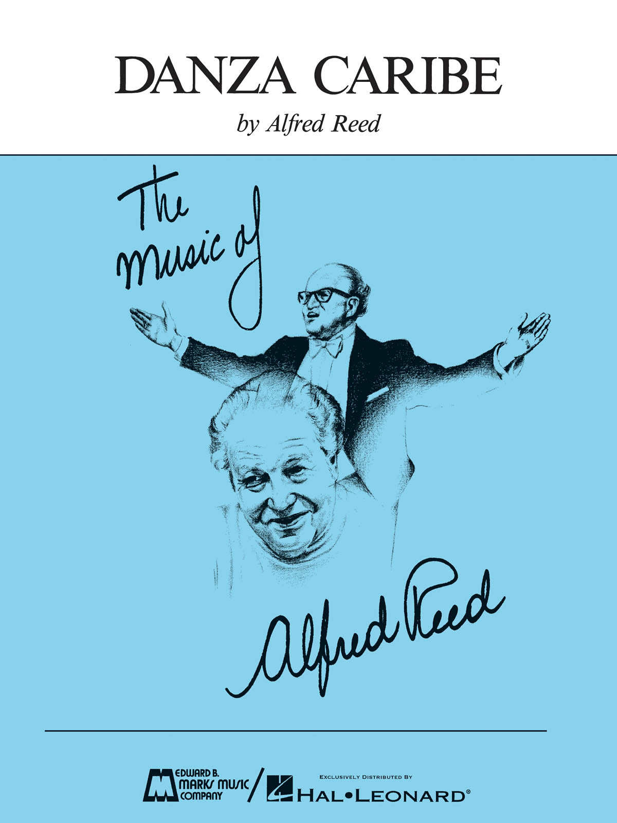 Alfred Reed: Danza Caribe: Concert Band: Score & Parts