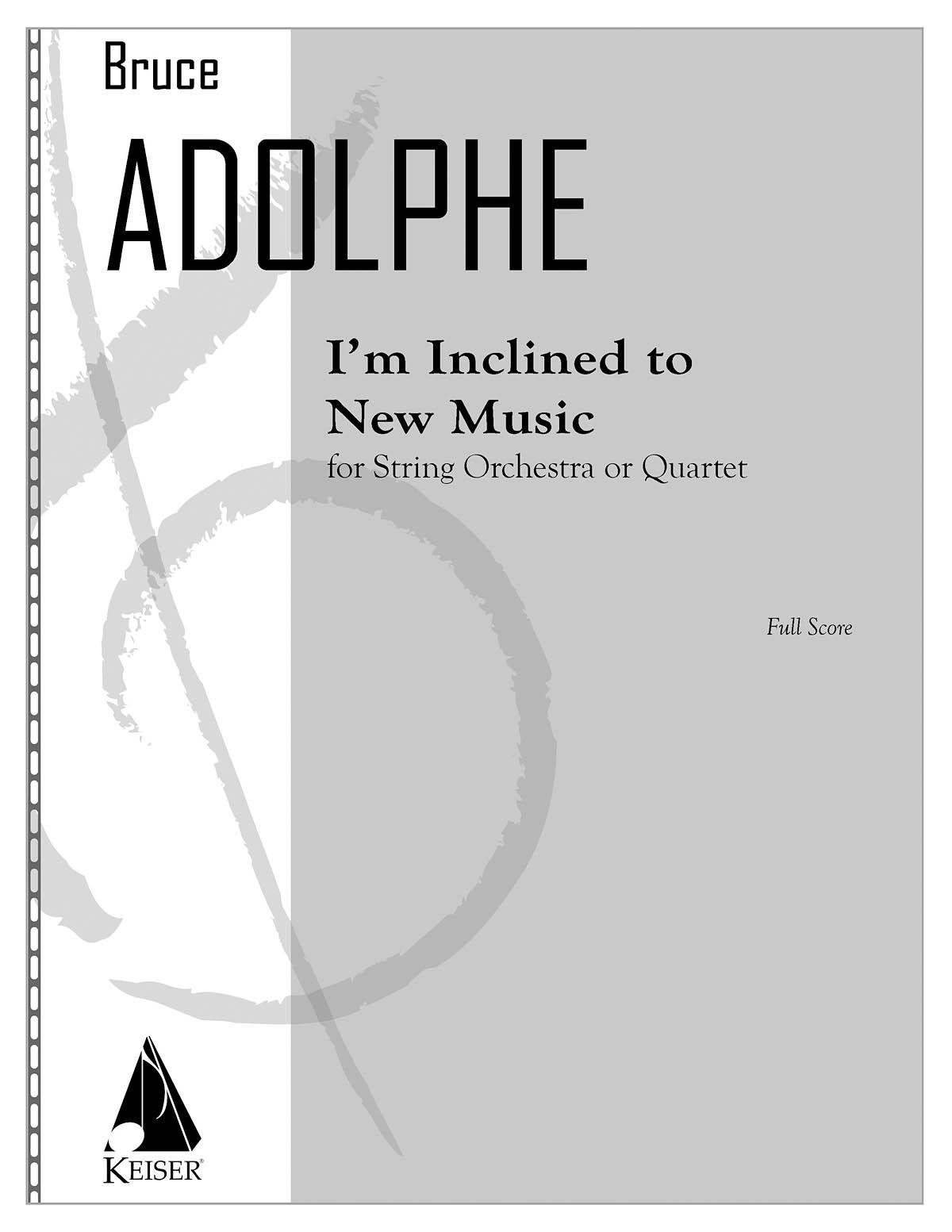 Bruce Adolphe: I
