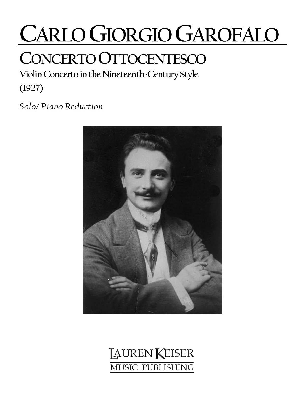 Carlo Giorgio Garofalo: Concerto Ottocentesco:: Piano: Full Score