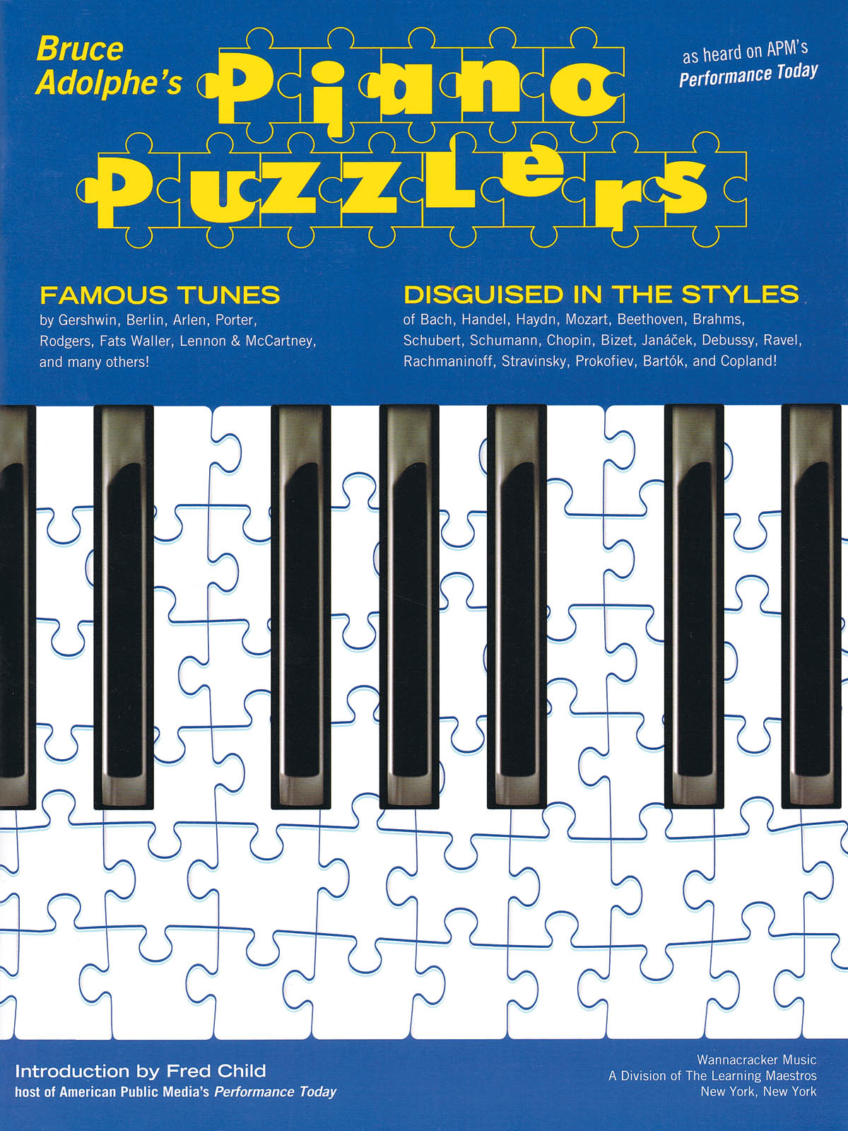 Bruce Adolphe - Piano Puzzlers: Piano