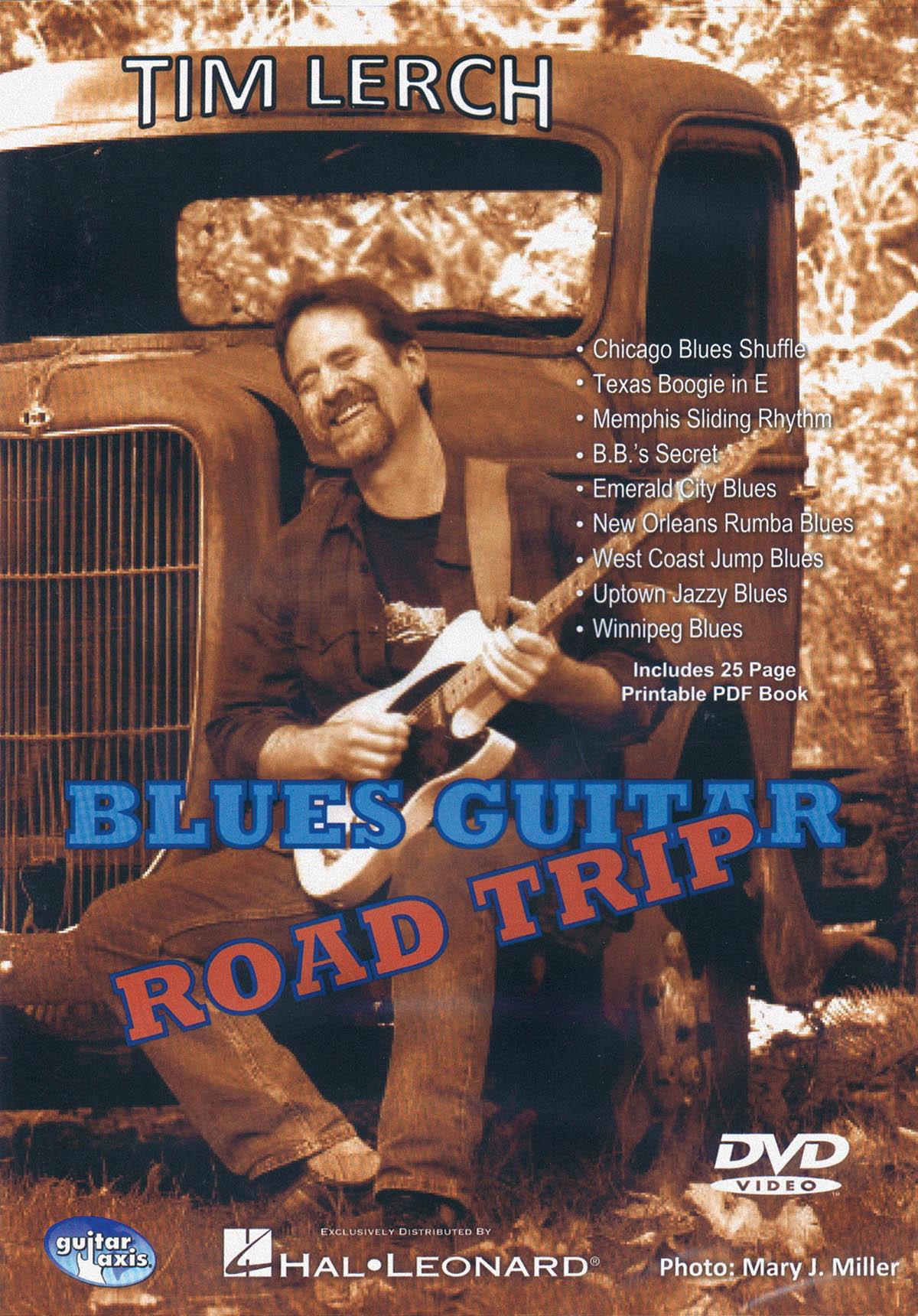Blues Guitar Road Trip: Guitar Solo: DVD