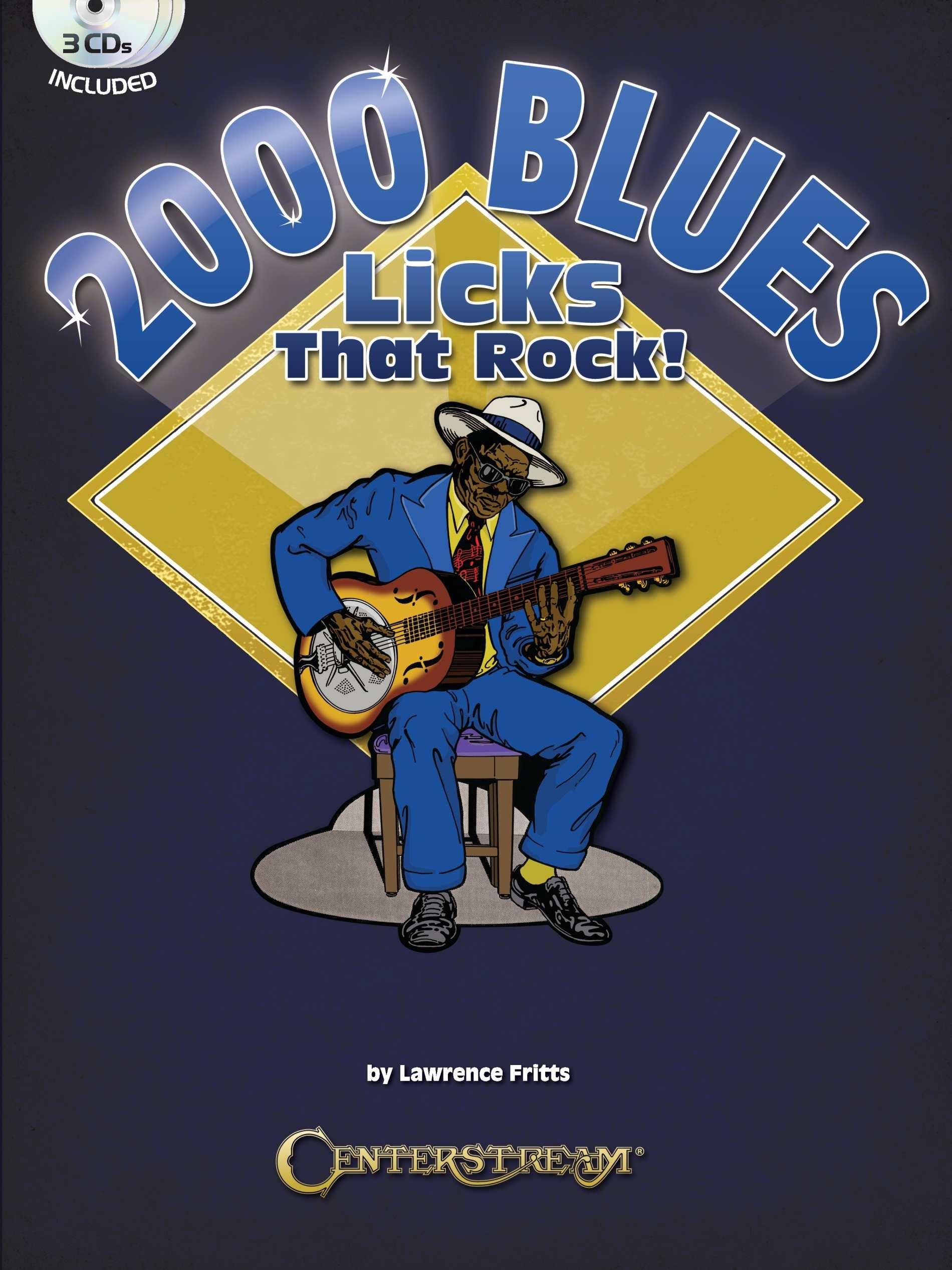 2000 Blues Licks That Rock!: Guitar Solo: Instrumental Tutor