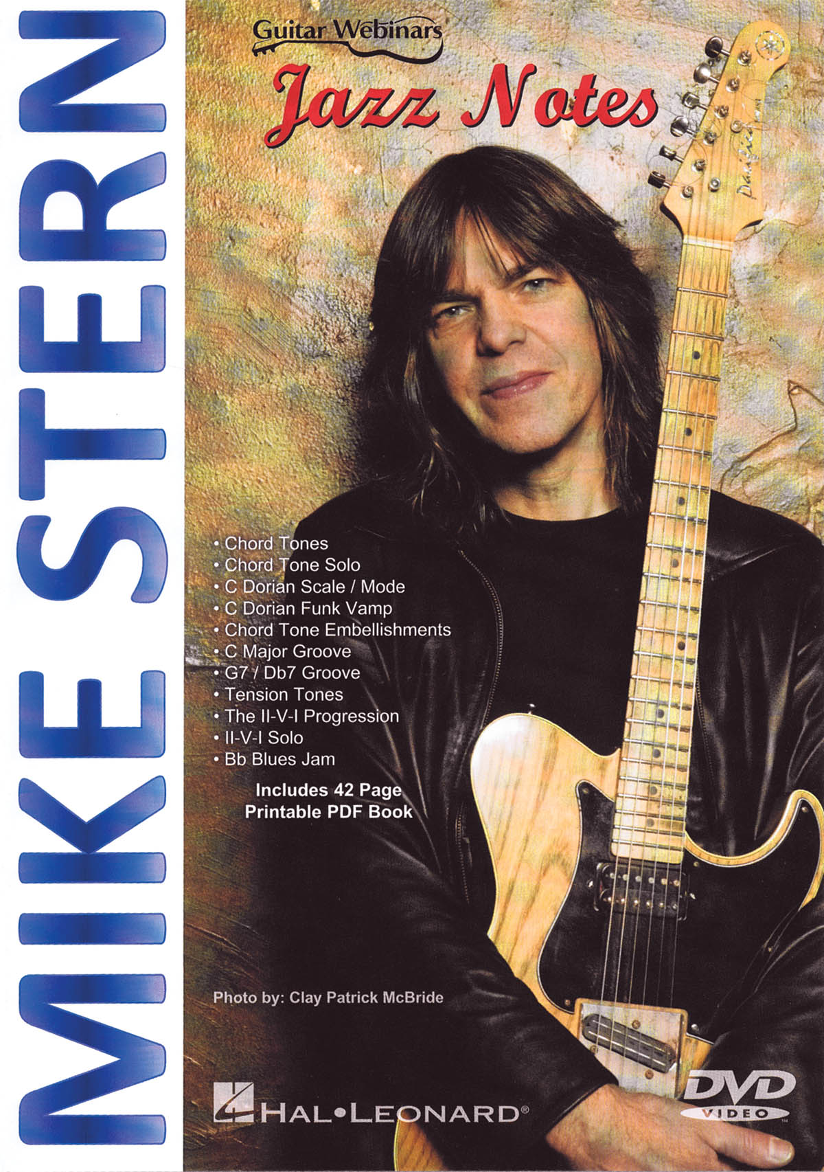 Mike Stern: Mike Stern - Jazz Notes: Guitar Solo: DVD