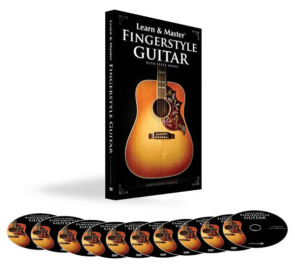 Learn and Master Fingerstyle Guitar Pack (Spotlight (Hal Leonard))