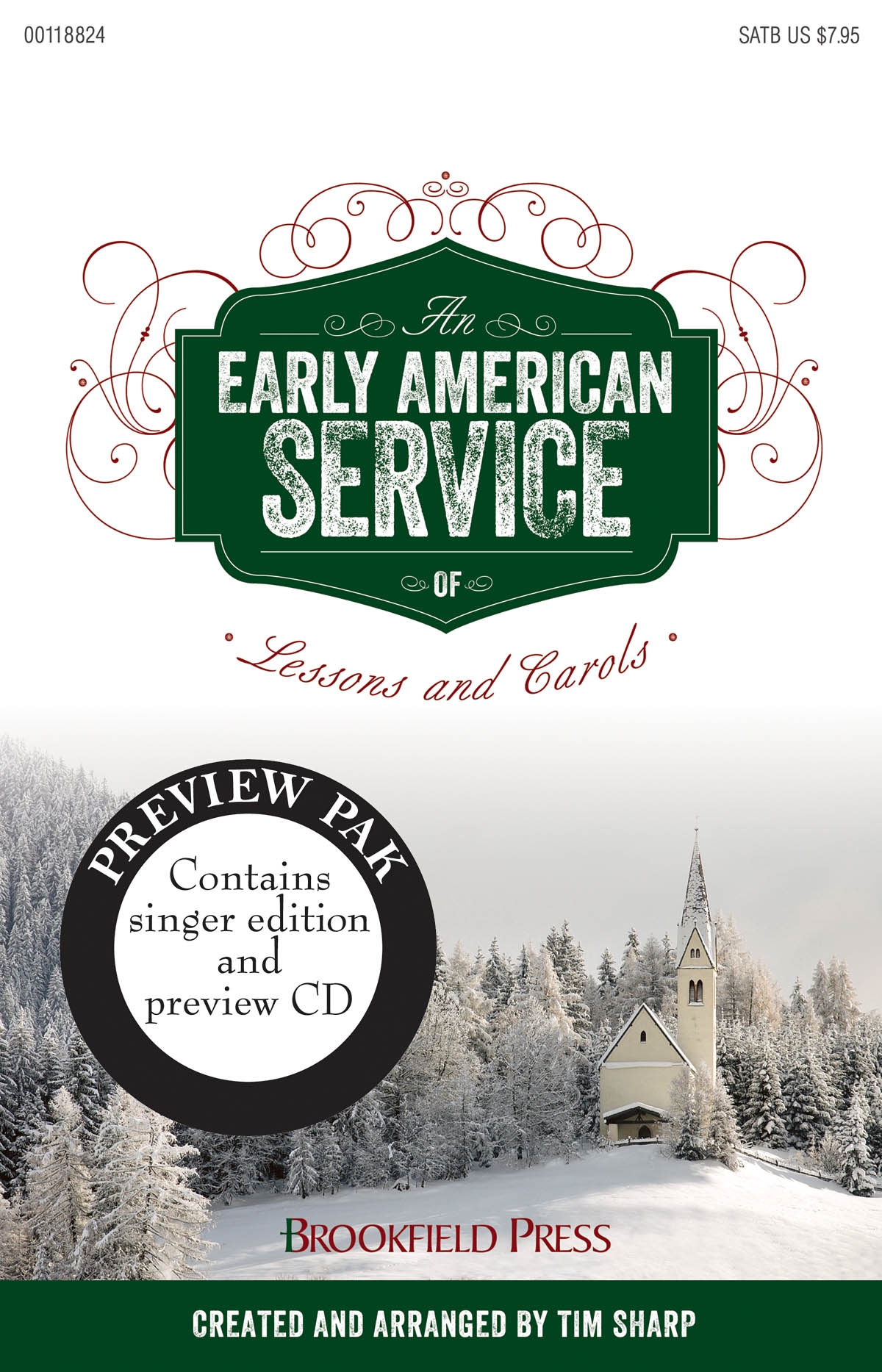 An Early American Service of Lessons and Carols: Mixed Choir a Cappella: CD