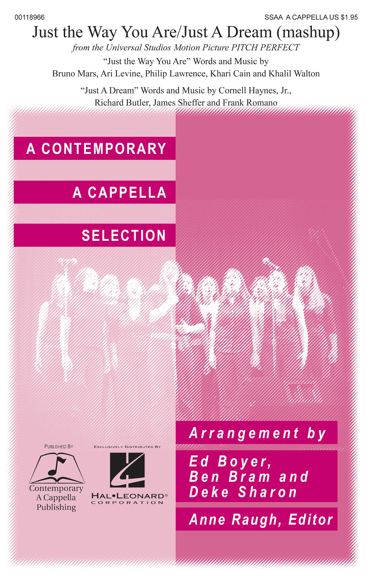 Just the Way You Are/Just a Dream: Upper Voices a Cappella: Vocal Score