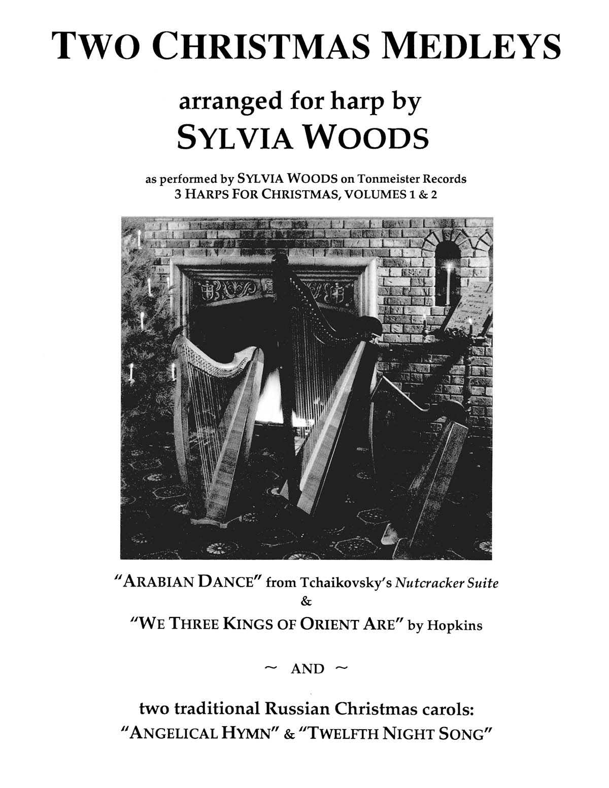 Two Christmas Medleys: Harp Solo: Instrumental Album