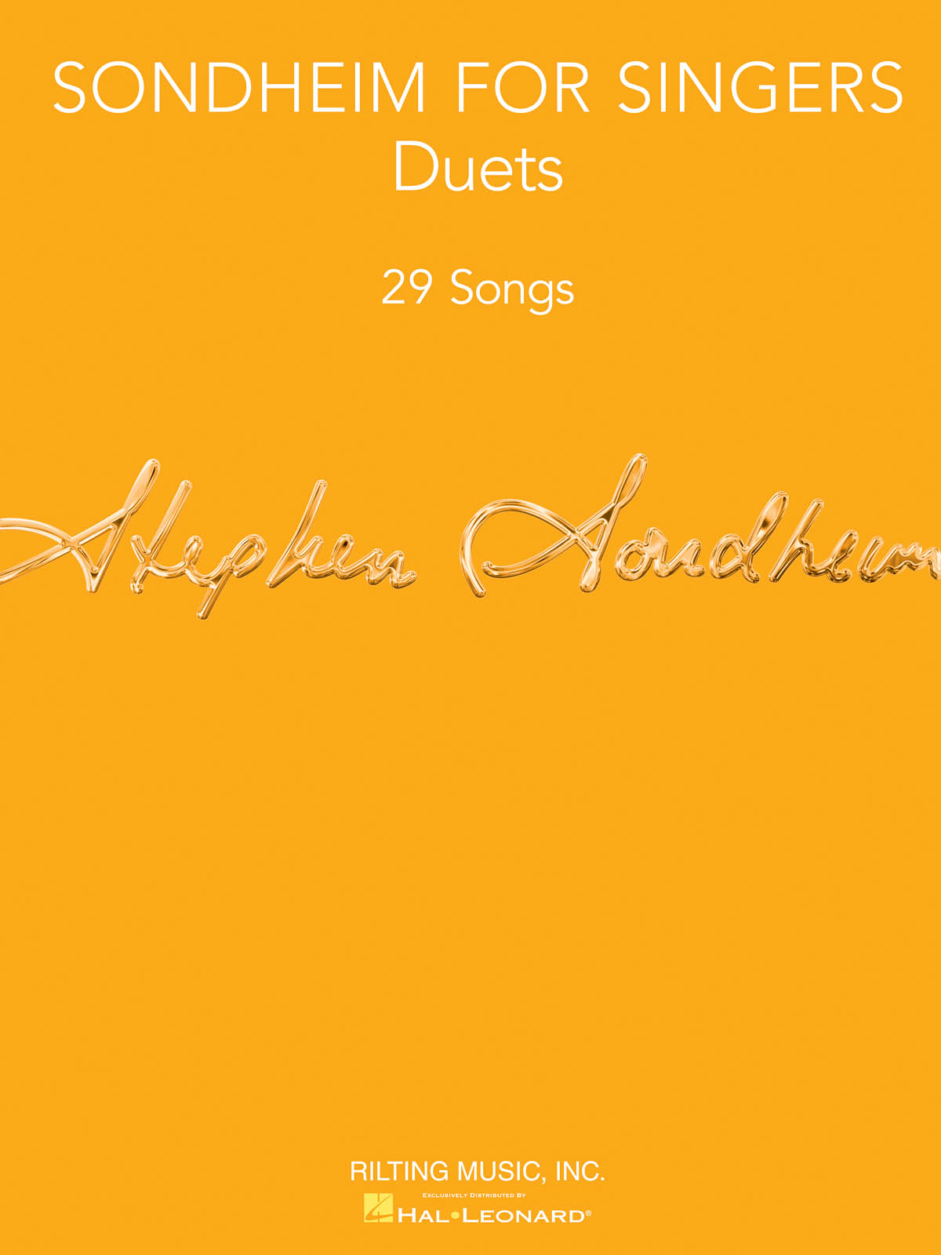 Stephen Sondheim: Sondheim for Singers: Vocal Duets: Artist Songbook