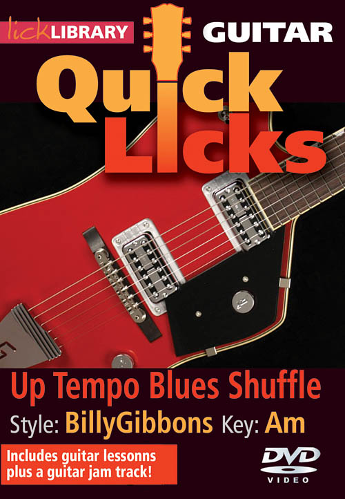 Billy Gibbons: Up Tempo Blues Shuffle - Quick Licks: Guitar Solo: DVD