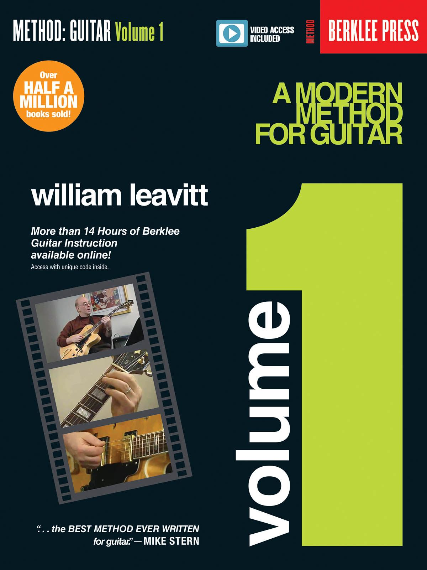 A Modern Method for Guitar - Volume 1: Guitar Solo: Instrumental Tutor