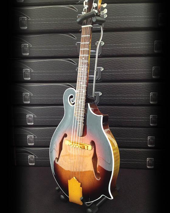 Axe Heaven Classic Sunburst F-style Mandolin Mini Guitar Replica