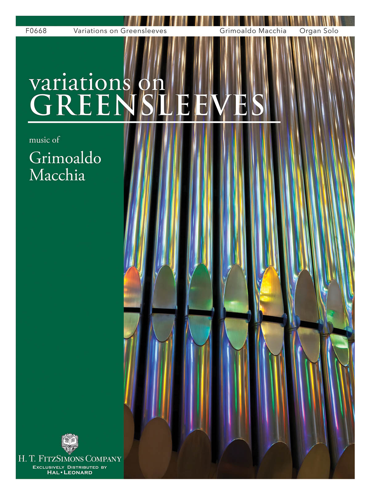 Variations on Greensleeves: Organ