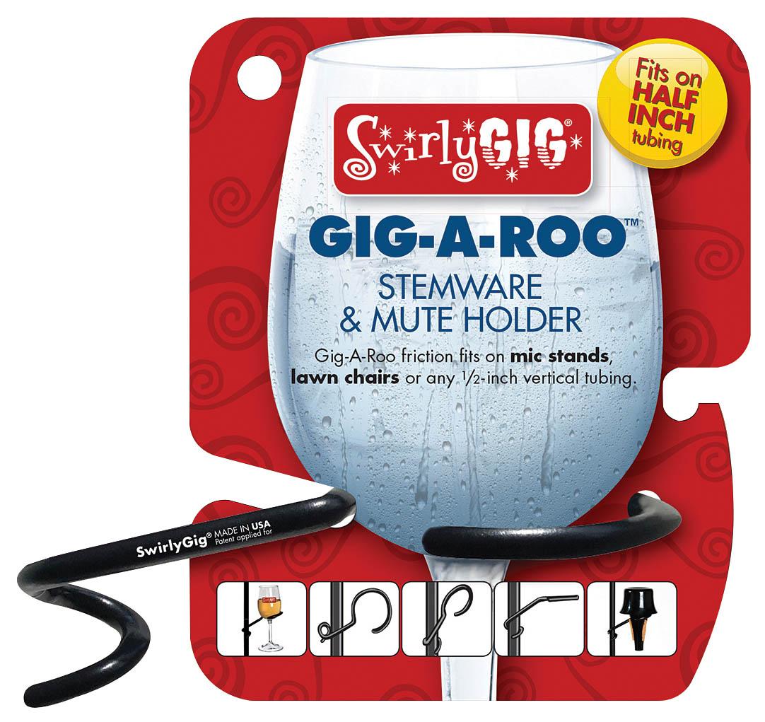 SwirlyGig Gig-A-Roo - Stemware & Mute Holder 1/2″: Instrument Component