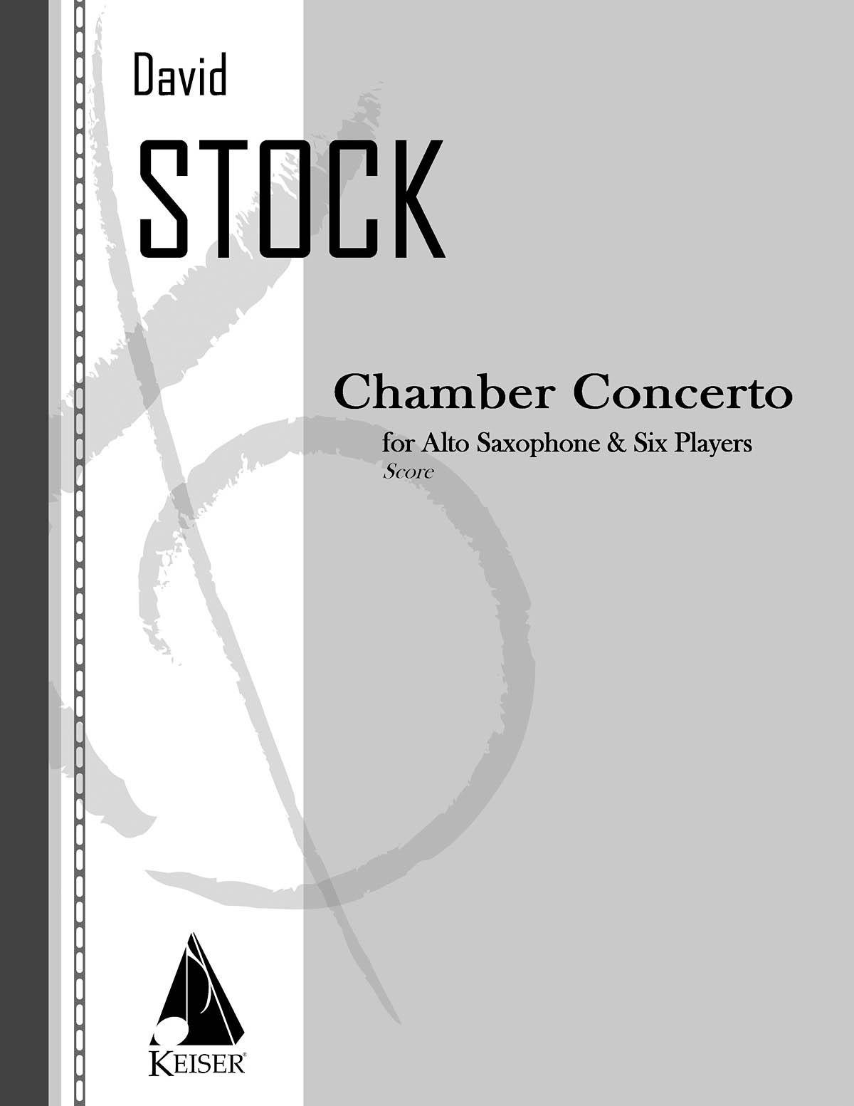 Chamber Concerto for Saxophone and Six Players: Chamber Ensemble: Score