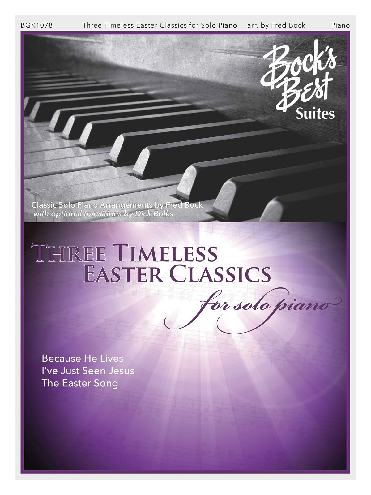 3 Timeless Easter Favorites for Solo Piano: Piano: Instrumental Album