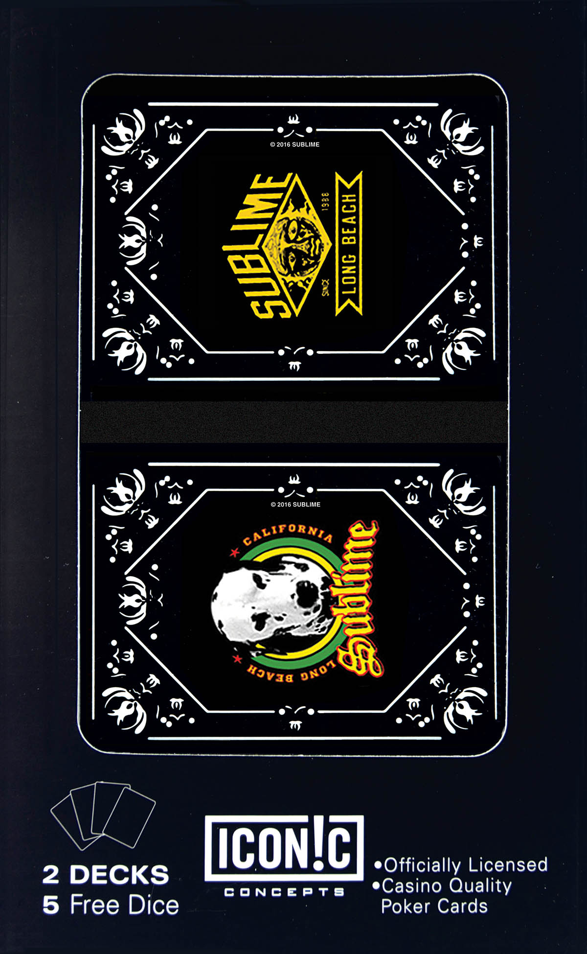 Sublime Double Deck Playing Cards: Game