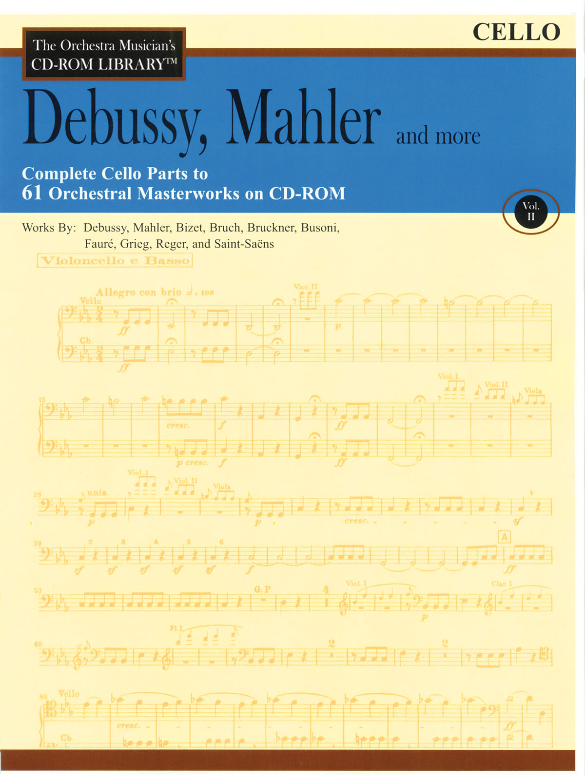 Claude Debussy Gustav Mahler: Debussy Mahler and More - Volume 2: Orchestra: